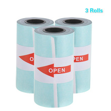 Thermal Paper with Self-adhesive Printable Sticker Paper Roll Direct 57*30mm(2.17*1.18in) for PeriPage A6 Pocket PAPERANG P1/P2