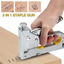 3 In 1 Multitool Nail Staple  Furniture Stapler Tools For Furniture Wood Door Upholstery Framing  Rivet Tool New