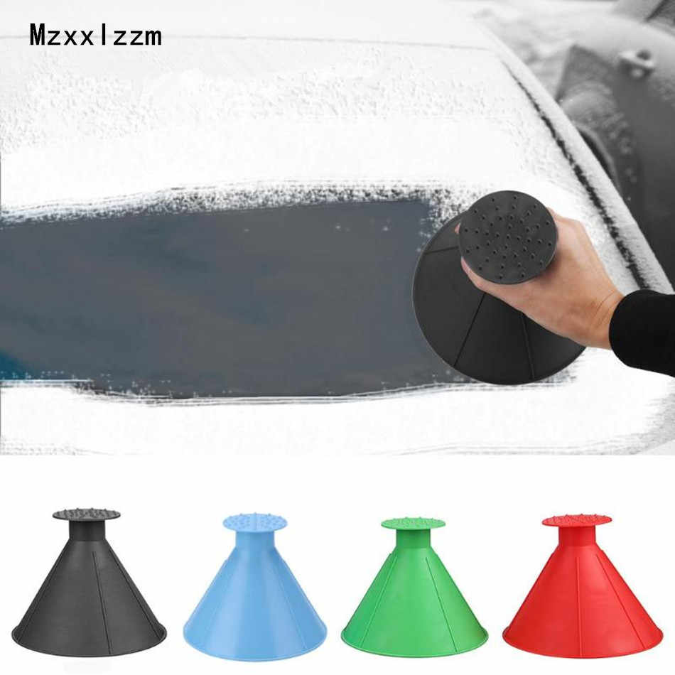 Car Vehicle Windshield Snow Removal Shovel Tendon Ice Scraper Frost Remover Tool