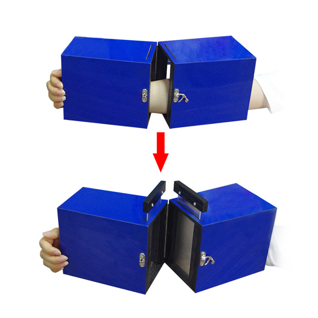 Drop Shipping Dis Armed One-Person Portable Illusion Magic Tricks Magician Stage Gimmick Prop 2020 New Arrival