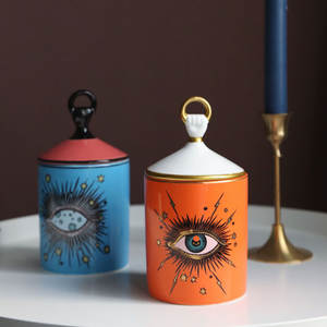 Candle-Holder Starry Incense Home-Decoration Handmade Sky with Big-Eye