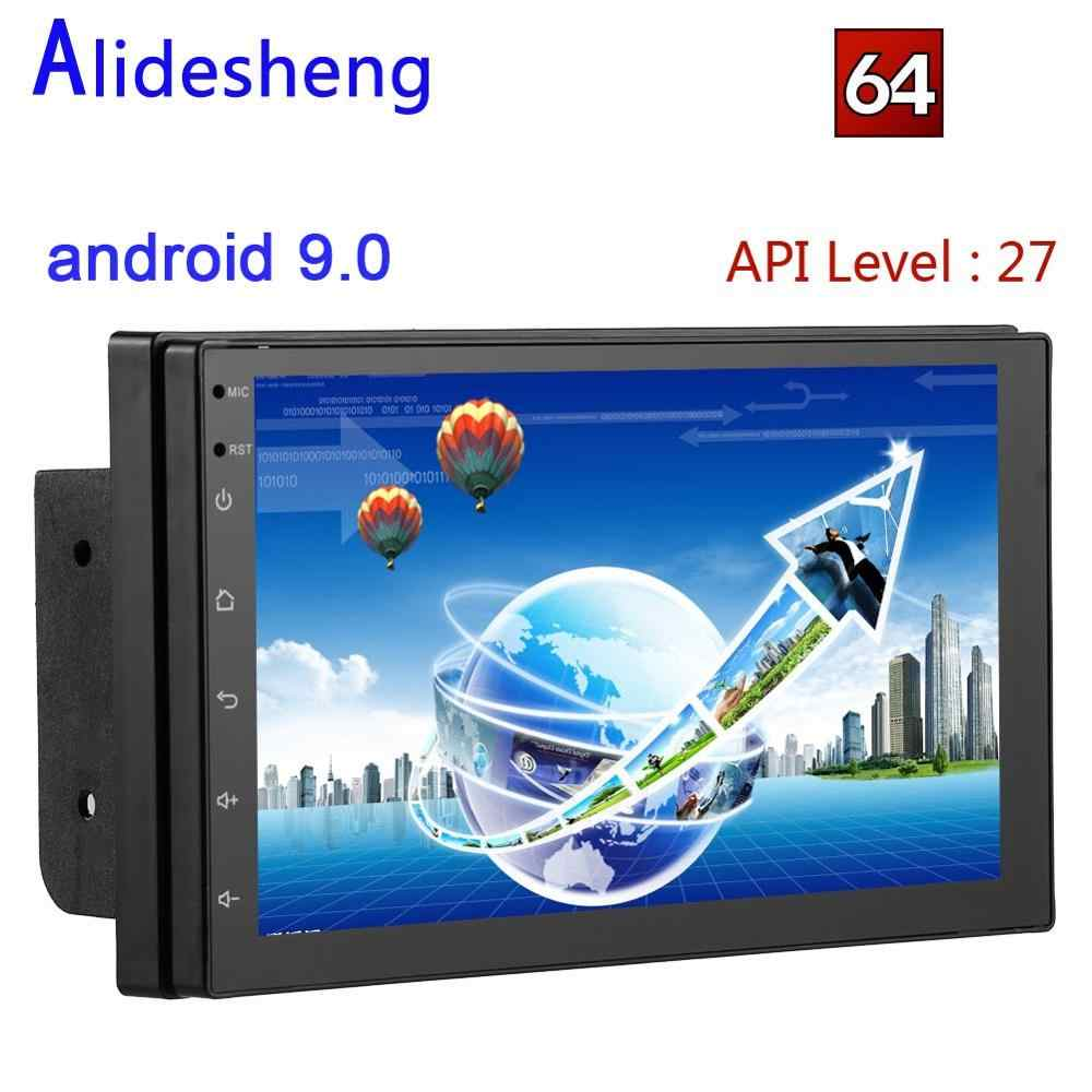 7 Inch 2 Din Android 8.1 Auto Stereo Radio Multimedia Video Player Hd Autoradio Car Audio Backup Monitor Gps Navi kaart 2DIN