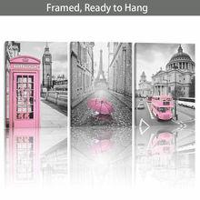 Фотофон с рамкой «ready to hang paris» Эйфелева башня Лондонская