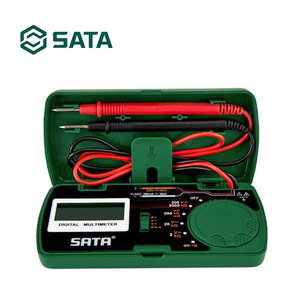 SATA Digital Clamp Meter Auto-ranging Multimeter with AC/DC Volt DY03001(China)