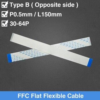 Cable plano Flexible 30/32/33/34/35/36/34/40/42/45/50/55/60/64 Pin 0,5mm tono B