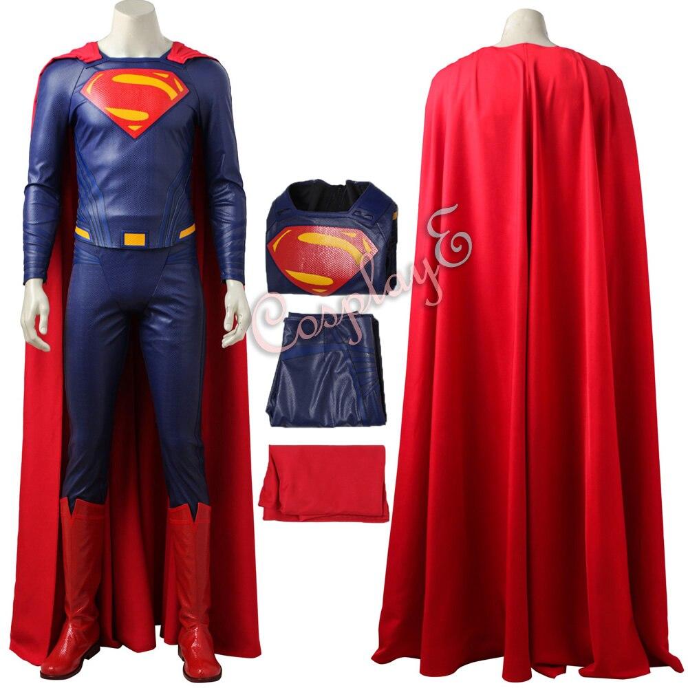 Superman Costume Justice League Cosplay Clark Kent Full Set Custom Made