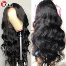 28 30 inch 6x6 Closure Wig Body Wave 150 180 Density Human Hair Wigs