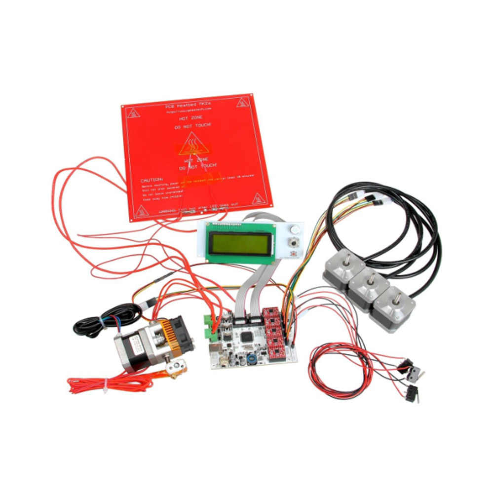 3D Printer Kit GT2560 Controller Board + LCD 2004 Display + 5 Pcs A4988 Stepper Motor Driver SP99