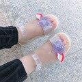 Сандалии для девочек; Новинка 2020 года; модная обувь принцессы для маленьких девочек; Летняя детская обувь с открытым носком для начальной шк...