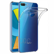 Lüks kılıfları için Huawei honor 9 Lite geri yumuşak telefon kılıfı funda şeffaf silikon TPU Huawei honor 9 Lite honor 9 Coque kapak(China)