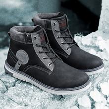 2019 Fashion Winter Military Boots For Men Comfortable Ankle Boots Men Work Shoes Army Desert Combat Boots Male Snow Footwear aleader new canvas unisex military boots combat women snow boots winter fashion outdoor fur shoes for men ankle botines mujer