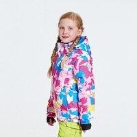 Fashion New Style Children's Ski Suit Wind Resistant Anti Spillage Warm Breathable Men's And Women's Child Ski Suit