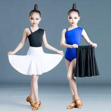 Платье детское для латиноамериканских танцев топ без рукавов