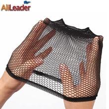 Alileader дешево снуд нейлон сетка для волос материалы для париков изготовление растяжка резинки сетка шапочка для женщин парик подкладка аксессуары черный