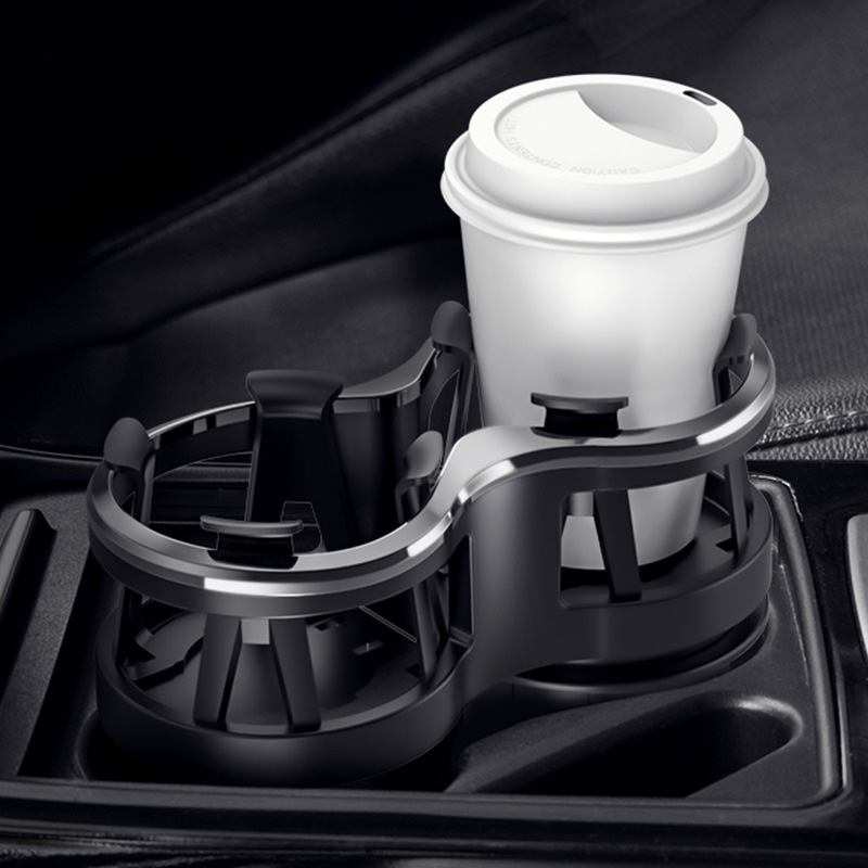 Multi-functional Car Mounted Glass Rack Modified Fixed Car Put Glass Ash Tray Rack Car for Tea Cup Saucer Drink Holder