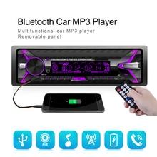 Auto Stereo 1 Din Car Radio 12V Bluetooth FM Aux I