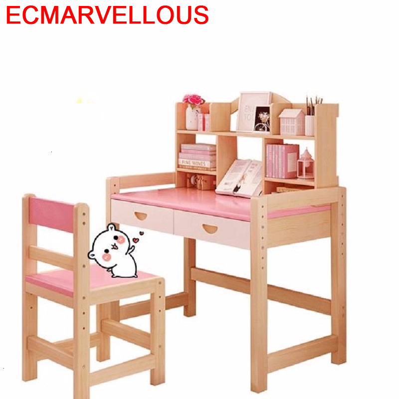Tavolo Toddler Pour Avec Chaise Scrivania Bambini Pupitre Kindertisch Adjustable Kinder Enfant Mesa Infantil Kids Study Table