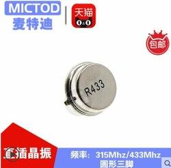 Xinyuan 10 шт./лот AUK R433A звуком настольная R433A поверхностной акустической волны резонатора к таблице R433-39 голосом со столом 433 75 k