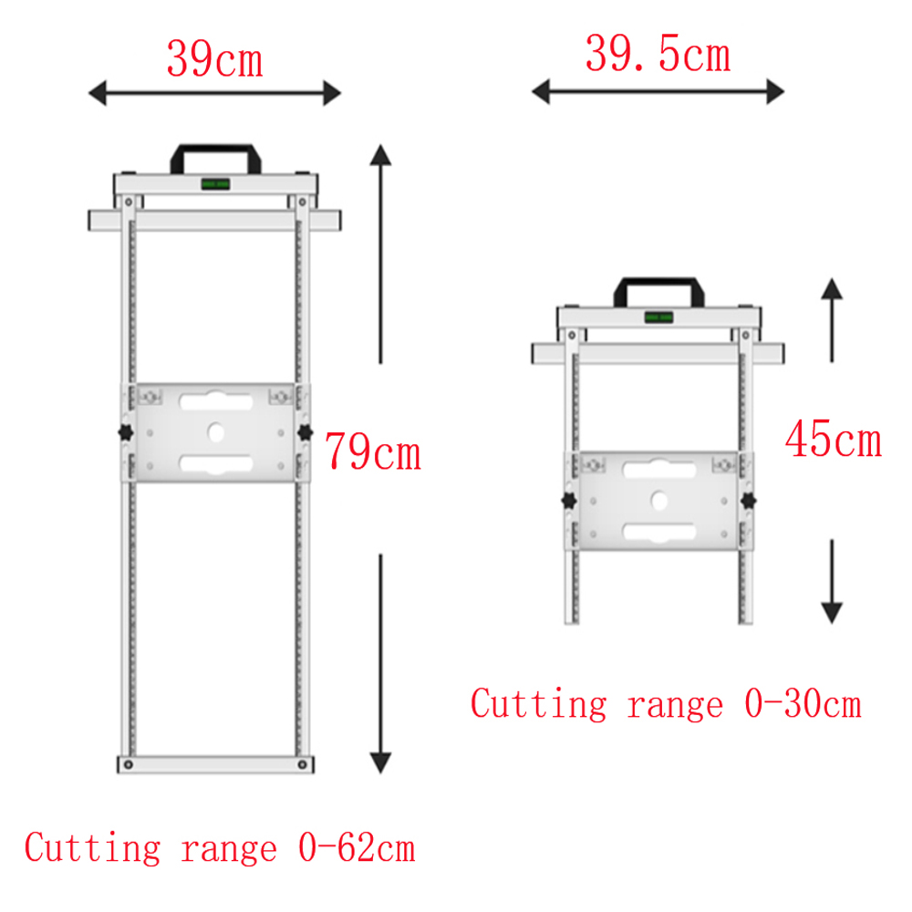 Купить с кэшбэком Electricity Circular Saw Trimmer Machine Edge Guide Positioning Cutting board tool Woodworking Router Circle Milling Groove tool