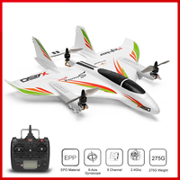 WLtoys XK X450 2.4G 6CH 3D/6G RC Airplane Brushless Vertical Takeoff LED RC Glider Fixed Wing RC Aircraft RTF RC Toy for Kid