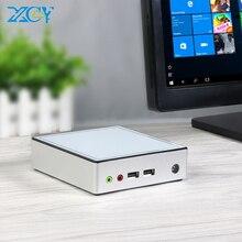 미니 PC 인텔 코어 i3 i5 i7 4GB 8GB DDR3L RAM 128GB/256GB SSD Windows 10 HDMI 4 * USB 300Mbps WiFi 기가비트 이더넷 넷탑 HTPC