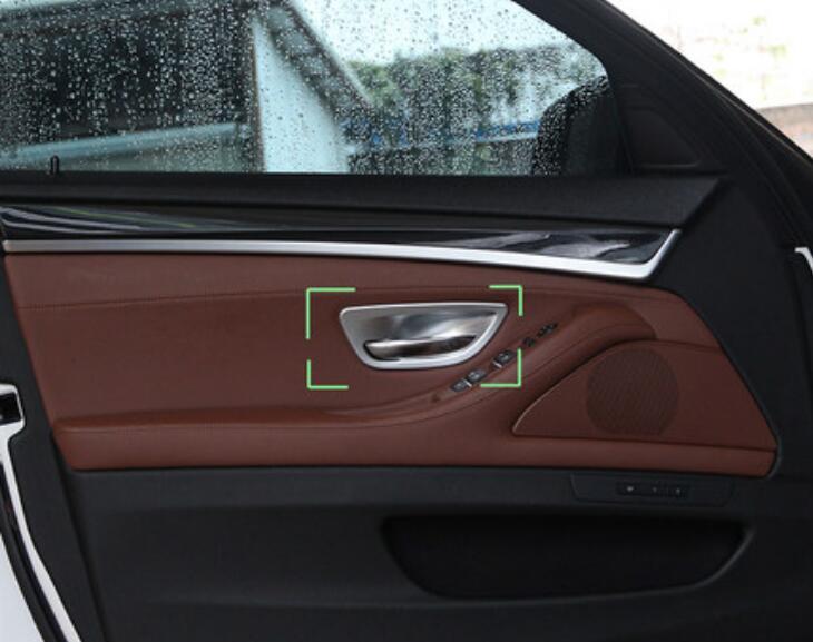 Interni auto maniglia Bowl Trim copertura 4pcs