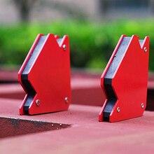 2шт/25LBS угол пайки локатор Сильный магнитный сварочный угловой держатель позиционер пайки локатор сварочный инструмент Аксессуары