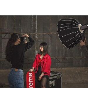 Image 5 - Софтбокс Nanguang для фотографии, светильник 60 см для зонтика Nanguang Forza, светильник для фотографии, софтбокс с креплением Bowen, круглый