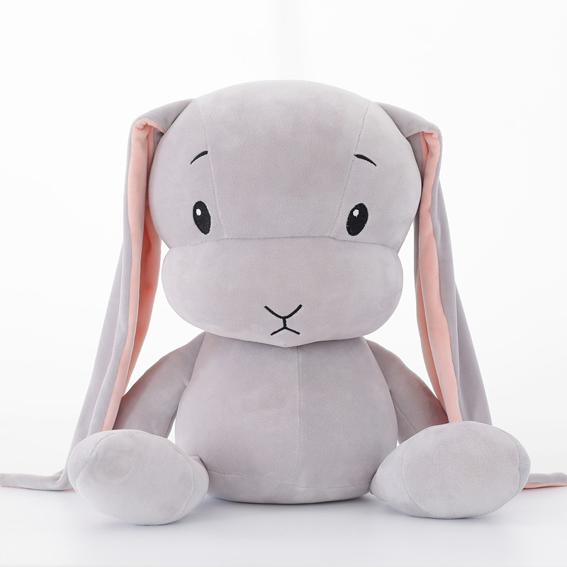 30CM mignon lapin en peluche jouets lapin en peluche et en peluche Animal bébé jouets poupée bébé accompagner sommeil jouet cadeaux pour enfants WJ491