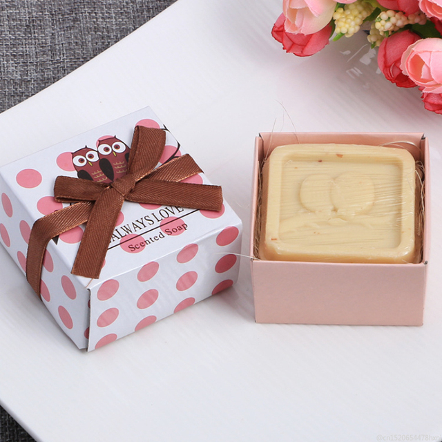 14 Styles Mini Cute Handmade Soap with Box Hand Face Cleansing Shampoo Bath and Body Soaps for Wedding Gift Foaming Net TSLM1 5
