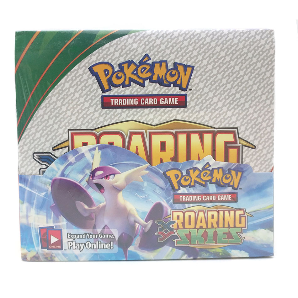 Pokemon 324PCS GX EX MEGA Cover Card 3D Version  Roaring Skies Card Collectible Gift Kids Toy Pokemon Cards