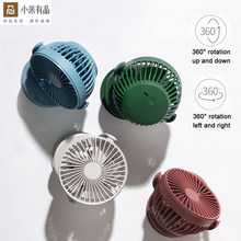 Youpin Solove Clip Mini Fan F3 Portable Handheld Windshield 360 Degree Front Mesh Removable Rechargeable For Home Office