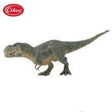 Clássico simulação animais dinossauros brinquedos modelo jurássico tiranossauro rex dinossauro pvc figura de ação brinquedo crianças presentes