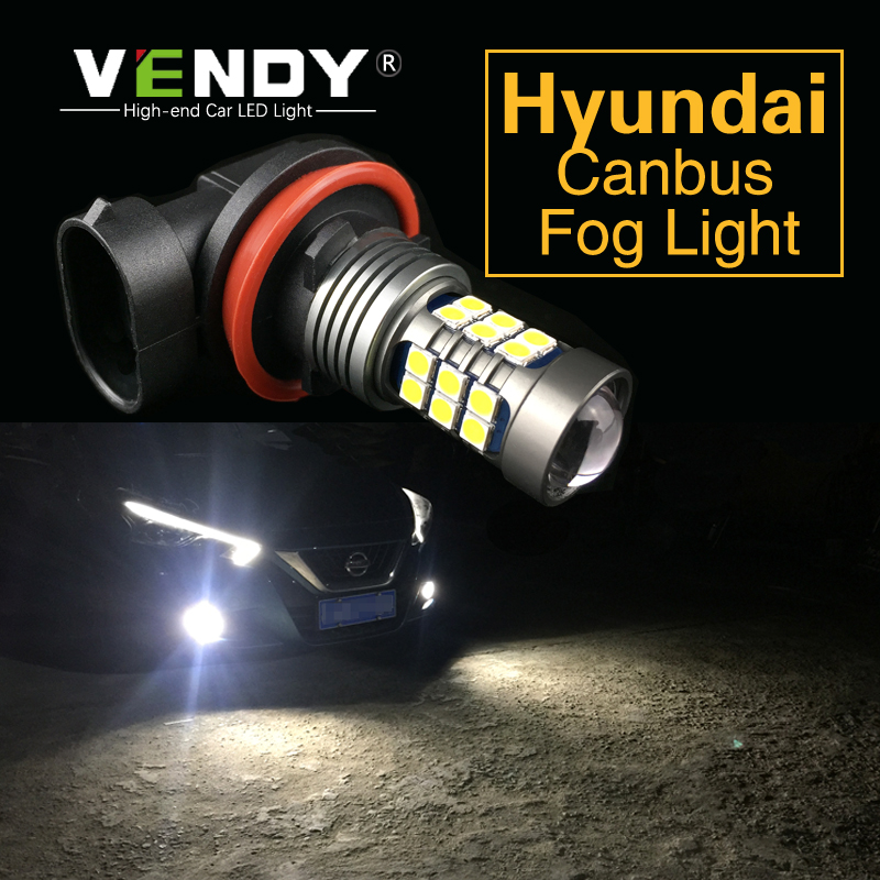 Lampe ampoule H8 H11 9006 HB4   Pour Hyundai Accent Elantra Sonata Tiburon Santa Fe Tucson Azera Genesis Veracruz 1 pièce