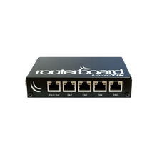 Mikrotik RB850Gx2 روتربورد 850G ثنائي النواة 500MHz 512MB 5 منفذ جيجابت OSL5 PowerPC