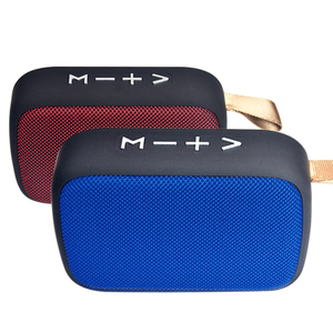 Portable Speaker Mini Bluetooth Speaker With FM Radio Bluetooth Speaker Wireless Loundpeakers Outdoor Speakers Support TF Card