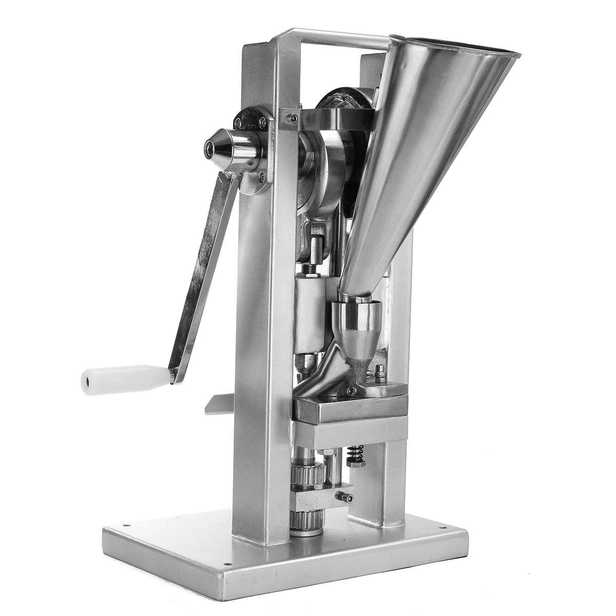 Máquina Manual de prensa de píldora simple/Fabricación de píldoras/(tipo más ligero) TDP-0/operado a mano/mini tipo 20KG
