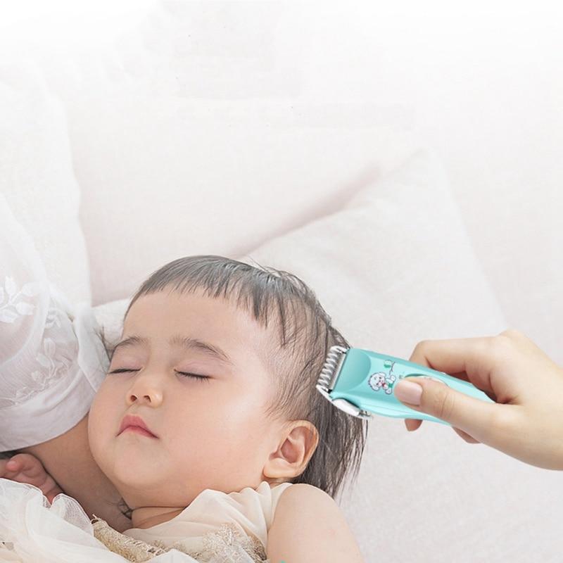 Kids Hair Clipper Ultra Quiet Baby Hair Trimmer Cordless Waterproof Children Haircutter