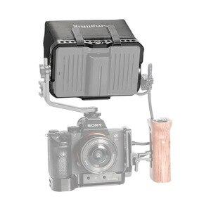 """Image 5 - SmallRig Monitör Kafesi Güneşlik için SmallHD ODAK OLED Serisi 5.5 """"Monitör Koruyucu Kafes + Güneş Kalkanı Hood Kiti  2405"""