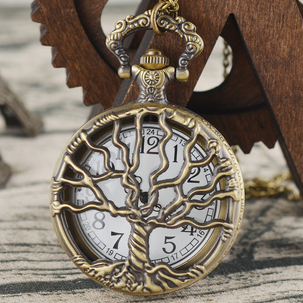 Vintage Chain Retro The Greatest Pocket Watch Necklace For Grandpa Dad Gifts Reloj Skyrim New Arrival Freeshipping Hot Sale