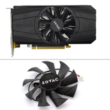 85mm GA91B2U 2PIN GTX 1050 PA Cooler fan Replace Fan Cooling For  ZOTAC GeForce 1050Ti 4GB PB Thunder Graphics Card Fans