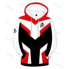 4 Quantumm Realm Hoodies Jacket Men Women 3D Print Cosplay Costumes Sportwear Pullover Sweatshirts