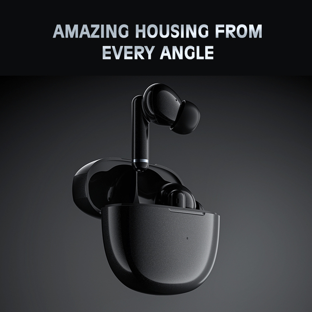 QCY HT03 TWS ANC Fone Bluetooth Earphones Noise Canceling Wireless Headphones Gaming Headphone With Microphone Handfree Earbuds 5