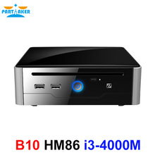Partaker Powerful Mini PC Computer Windows Intel Core i3 4000M DVI HDMI Desktop HTPC