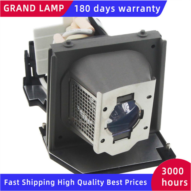 Compatible 2400MP for Dell Projector lamp P VIP 260/1.0 E20.6 310 7578 725 10089 0CF900 468 8985 with housing HAPPY BATE