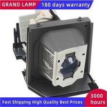 Kompatybilny 2400MP dla Dell lampa projektorowa P VIP 260/1. W wieku 0 E20.6 310 7578 725 10089 0CF900 468 8985 z obudową szczęśliwy BATE