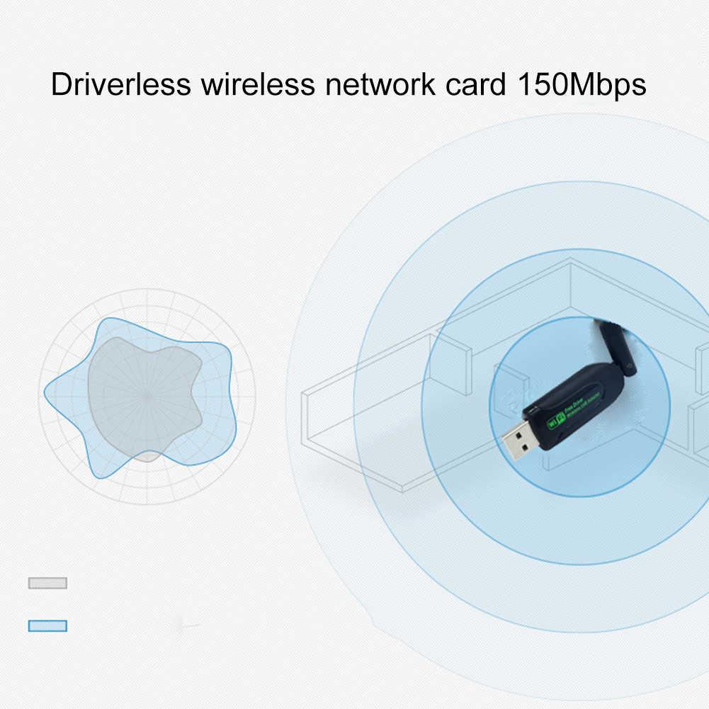 Tarjeta de red adaptador USB WiFi 150 Mbps/600 Mbps adaptador USB 2,0 WiFi antena WiFi Dongle USB Ethernet receptor WiFi