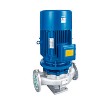 High Temperature Homebrew Stainless Steel  single-stage single-suction vertical centrifugal water pump IHG25-125