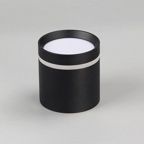 1 pcs pode ser escurecido superficie montado teto downlight 7w 10w12w ac85 265v cob lampada