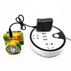 Image 5 - Amerykańska ładowarka EU DC4.2V 3.5mm latarka ładowarka zasilająca 4.2V 500mA AC inteligentny zasilacz 18650 Li ion ładowarka